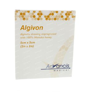 Algivon Alginaat Non-Adhesive 5cm x 5cm 5 unidades