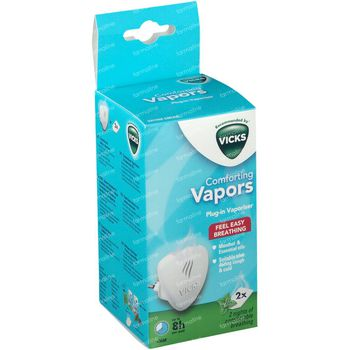 Vicks VH1700E-EMEA Comforting Vapors Menthol & Huiles Essentielles +36 Mois 1 st