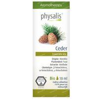 Physalis Ceder Essentiële Olie Bio 10 ml