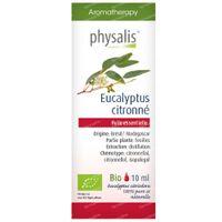 Physalis Eucalyptus Citronné Huile Essentielle Bio 10 ml