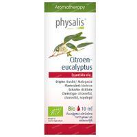 Physalis Citroeneucalyptus Essentiële Olie Bio 10 ml