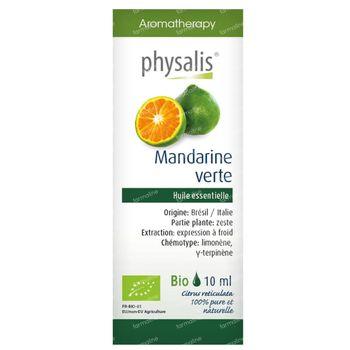 Physalis Mandarine Verte Huile Essentielle Bio 10 ml