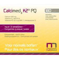 Calcimed3 K2 PQ 180  comprimés à croquer