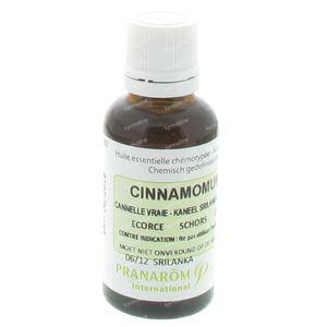 Pranarom Canelle Sri Lanka Huile Essentielle 30 ml