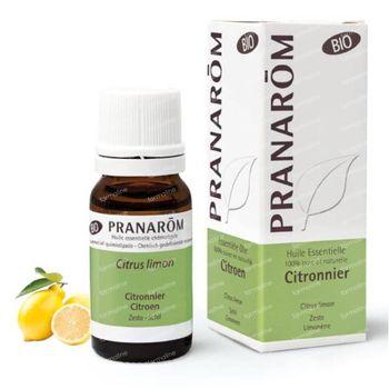 Pranarôm Huile Essentielle Citron Zeste Bio 100 ml