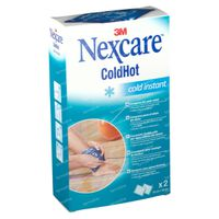 Nexcare ColdHot Cold Instant Double Pack 2 stuks
