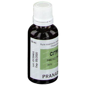 Pranarôm Orange Douce Huile Essentielle 30 ml