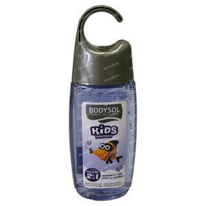 Bodysol Kids Douche 2 in 1 Pruim 250 ml