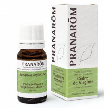 Pranarôm Huile Essentielle Cèdre de Virginie 10 ml