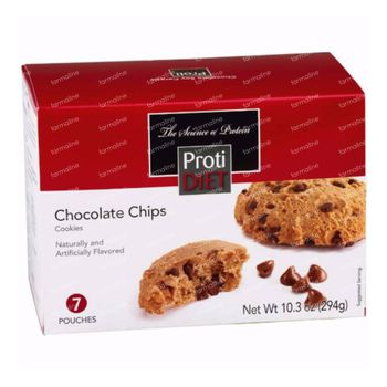 Protidiet Cookie Pepites de Chocolat 5 sachet