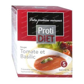 Protidiet Soupe Tomates et Basilic 5 sachet
