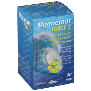 Magnemar force 3 90 capsules