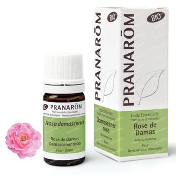 Pranarôm Huile Essentielle Rose de Damas Bio 5 ml