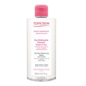Topicrem Gentle Cleansing Water Face & Eyes 500 ml