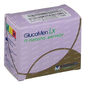 GlucoMen LX Plus Ket Sensors 10 pièces