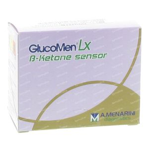 GlucoMen LX Plus Ket Sensors 10 Pieces