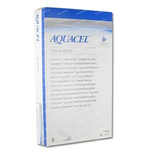 Aquacel Hydrofiber 1cm x 45cm 5 unidades