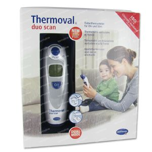 Hartmann Thermometer Thermoval Duo Scan 1 item