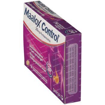 Maalox Control 20mg - Zure Oprispingen 14 tabletten