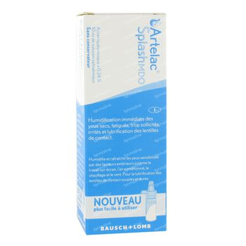 Bausch & Lomb Artelac Splash 10 ml gouttes