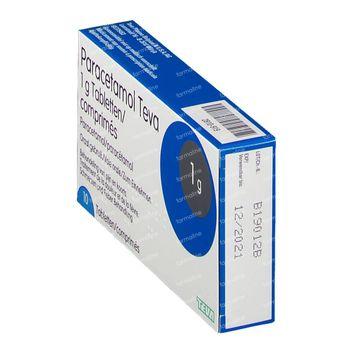 Paracetamol Teva 1 g 10 comprimés