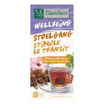Damhert Tea Time Stimule le transit 20 sachets