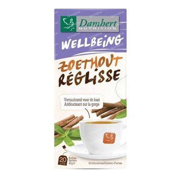 Damhert Tea Time Réglisse 20 sachets