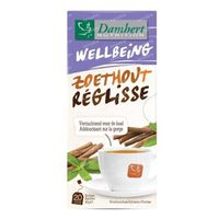 Damhert Tea Time Thee Zoethout 20  zakjes