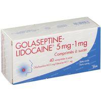 Golaseptine-Lidocaine 40  zuigtabletten