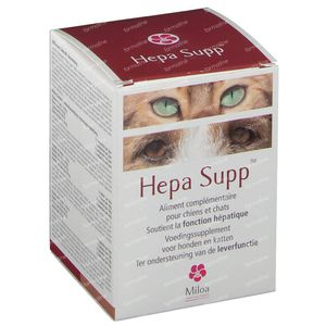 Miloa Hepato Supp 30 comprimés à croquer