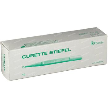 Curette 4 mm 10 st