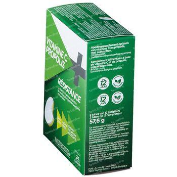 Nutrisanté Vitamine C+Propolis 24 comprimés à croquer