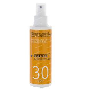 Korres Sun Spray Yoghurt SPF30 150 ml