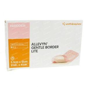 Allevyn Gentle Border Lite 5.5 x 12cm 66800836 10 St