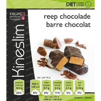 Kineslim Barre de Chocolat – Perte de Poids – En-cas Riche en Protéines 4 pièces