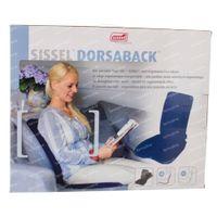Sissel Dorsaback Sans Pad Soutien Lombaire + Assise Noir 1 st