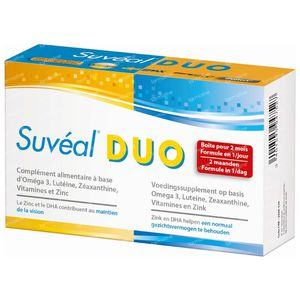 Suvéal Duo 60 capsules