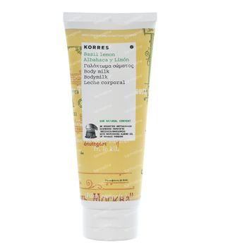 Korres Basilic Citron Lait Corporel 200 ml