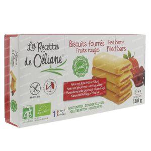 Celiane Cookie Red Fruit Filled Bio 160 g
