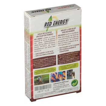 Ortis Red Energy Bio 15 comprimés