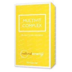 Natural Energy Multivit Complex 30 capsules