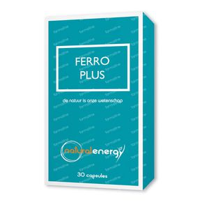 Natural Energy Ferro Plus 30 St Capsules
