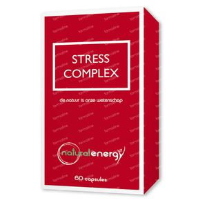 Natural Energy Stress Complex 60 St Capsules
