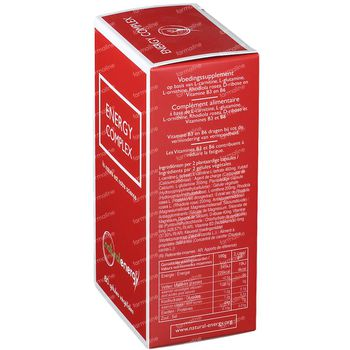 Natural Energy Energy Complex 60 capsules