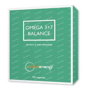 Natural Energy Omega 3+7 Balance 40 stuks Capsule