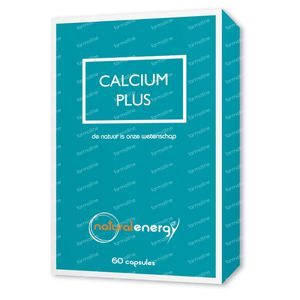 Natural Energy Calcium Plus 60 capsules