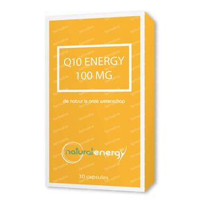 Natural Energy Q10 Energy 100mg 30 stuks Capsules