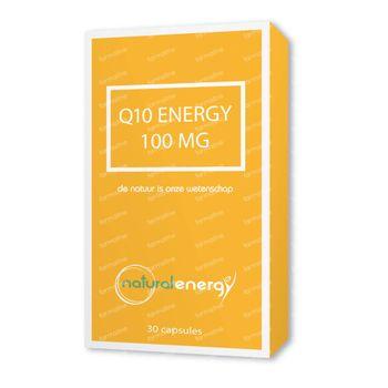 Natural Energy Q10 Energy 100mg 30 capsules