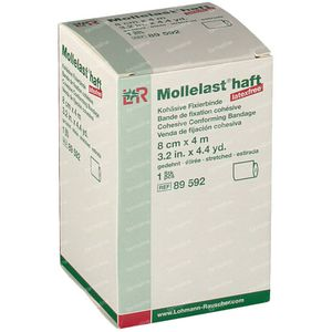 Mollelast haft Dressing Adhesive lf 8cmx4m 89592 1 pezzo