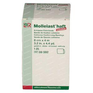 Mollelast Haft Dressing Adhesive Latex Free 8cmx4m 89592 1 pezzo